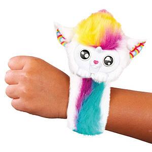 Интерактивная игрушка Wsooples гибкий браслет с питомцем, подвижный рот, свет, звук