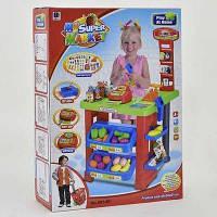 Игровой набор Bambi Магазин (661-80), супермаркет с тележкой и товарами