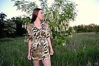 Шелковый комплект с ночной рубашкой, фото 1