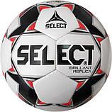 Мяч футбольный для детей SELECT BRILLANT REPLICA (размер 5), фото 2