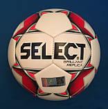 Мяч футбольный для детей SELECT BRILLANT REPLICA (размер 5), фото 3