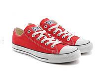 """Кеды  женские текстильные Converse Original Low """"Красные низкие"""" 37-39 р, фото 1"""