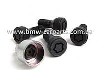 Комплект оригинальных секреток BMW Wheel Lock Set M14x1,25 мм