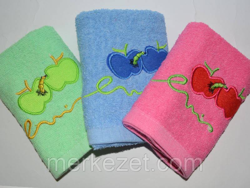 "Кухонное полотенце ""Бамбу Гого"". Махровые полотенца. Полотенца махра"