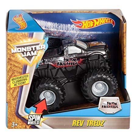 Инерционная машинка Hot Wheels™ Monster Jam METAL MULISHA
