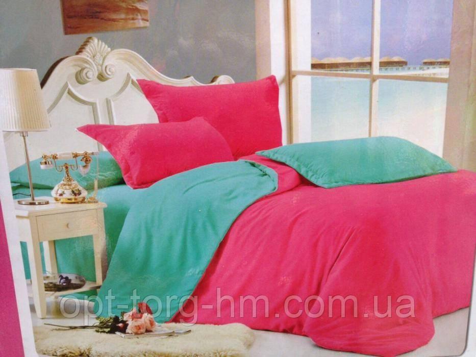 Однотонное постельное белье полуторка