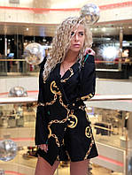 Модный женский комбинезон ( пижак+шорты )