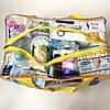 Сумка прозрачная в роддом Mommy Bag - M - 40*25*20 см Желтая, фото 5