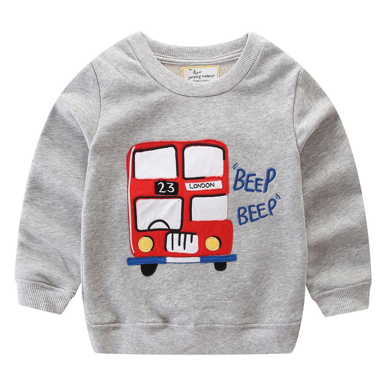 Кофта для мальчика Лондонский автобус Jumping Meters