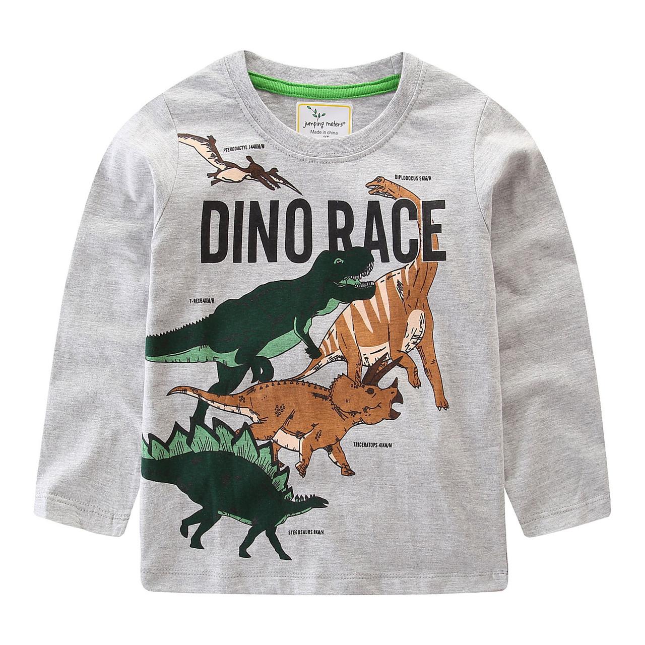 Кофта для мальчика Гонки динозавров Jumping Meters