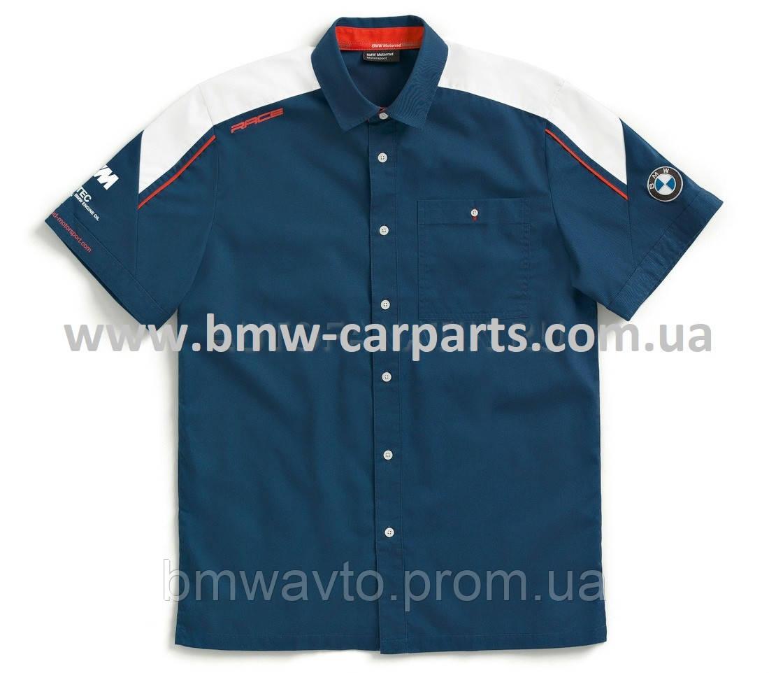 Мужская рубашка с коротким рукавом BMW Motorrad Motorsport Short Sleeve Shirt, Men 2019