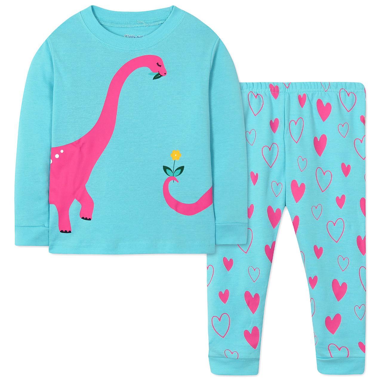 Пижама Динозавр Wibbly pigbaby