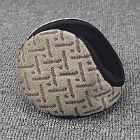 Чоловічі і жіночі теплі навушники (вушка), коричневі