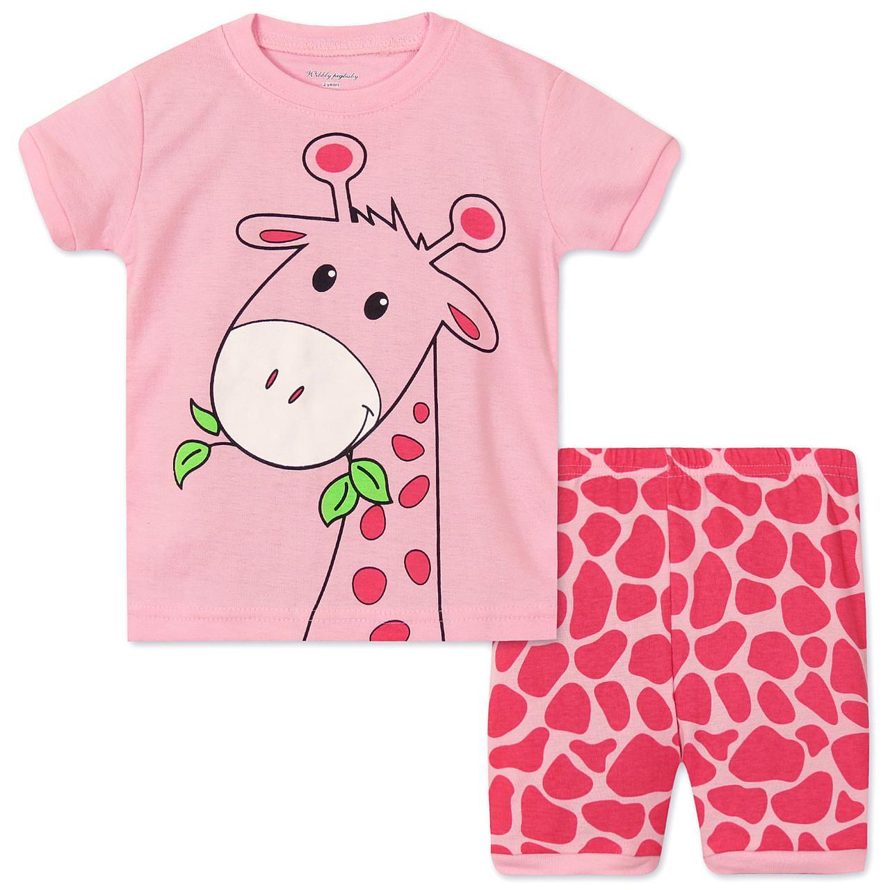 Пижама Жираф Wibbly pigbaby