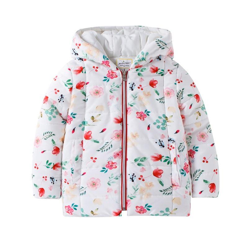 Куртка для девочки Цветы Jumping Beans 47641. Весенняя куртка. Детская куртка на весну.