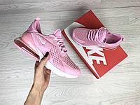 Подростковые кроссовки Nike 7371 розовые, фото 1