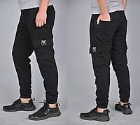 Спортивные трикотажные карго штаны Rextim