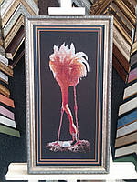 Картина крестом Фламинго (Юнона)