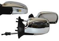 Vitol YH-3109A Зеркало боковое /LADA Samara 08,09,13-15/Chrome/light/хром с поворотом