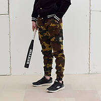 Мужские карго штаны от бренда Rextim Woodland , камо