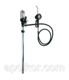 Пневматический насос с электронным расходомером