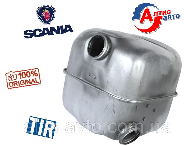Глушитель Scania серия 4 P,G,R,T выхлопная система Скания 1337750, 1378553, 1420278, 1484094, 1500455, 1800871
