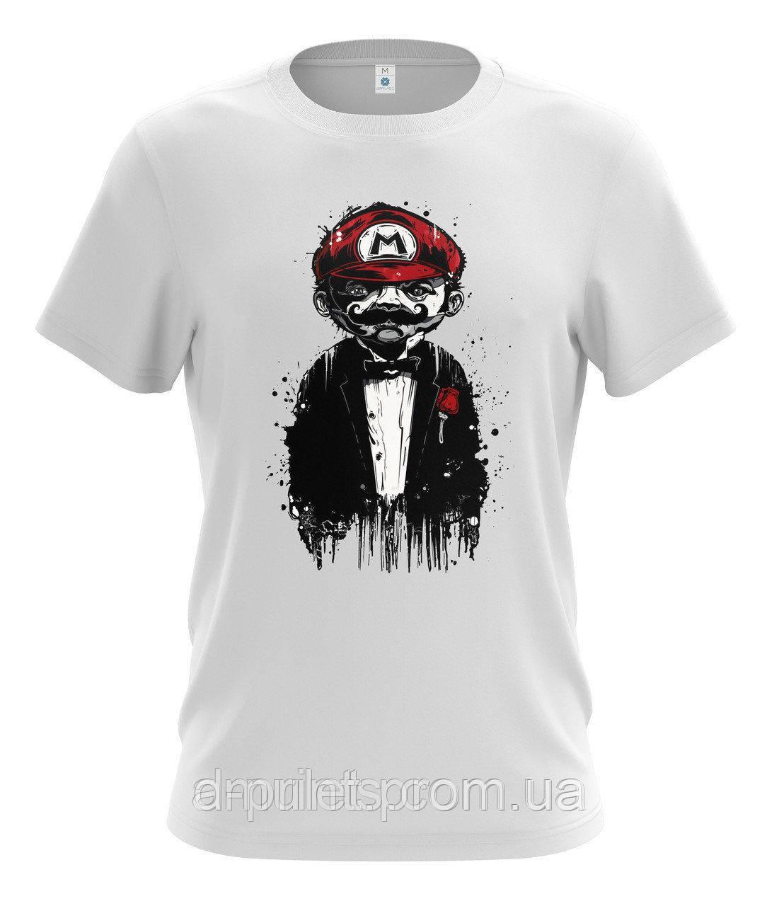 "Футболка мужская с рисунком ""Марио"" MF-12-94"