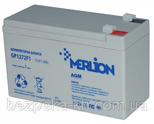 Аккумуляторная батарея  MERLION AGM GP1272F2