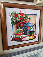 Картина крестом+бисер Натюрморт на кухню (Чаривна мыть)