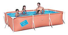 Детский каркасный бассейн Bestway 56220 (240x150x58; прямоугольный)