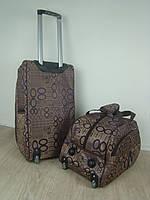 Набор дорожных сумок на колесах с телескопической ручкой