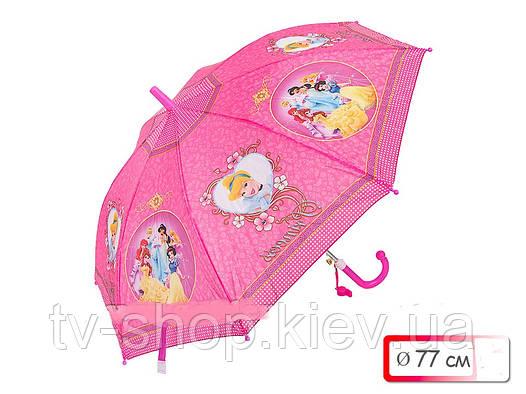 Зонт со свистком  Принцессы,Минни Маус