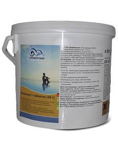 Хлор шок, Дихлор Chemoform, 5 кг (в таблетках по 20 гр)