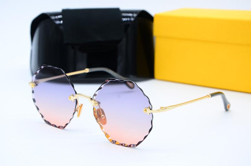 Круглые женские солнцезащитные очки 31275 с70