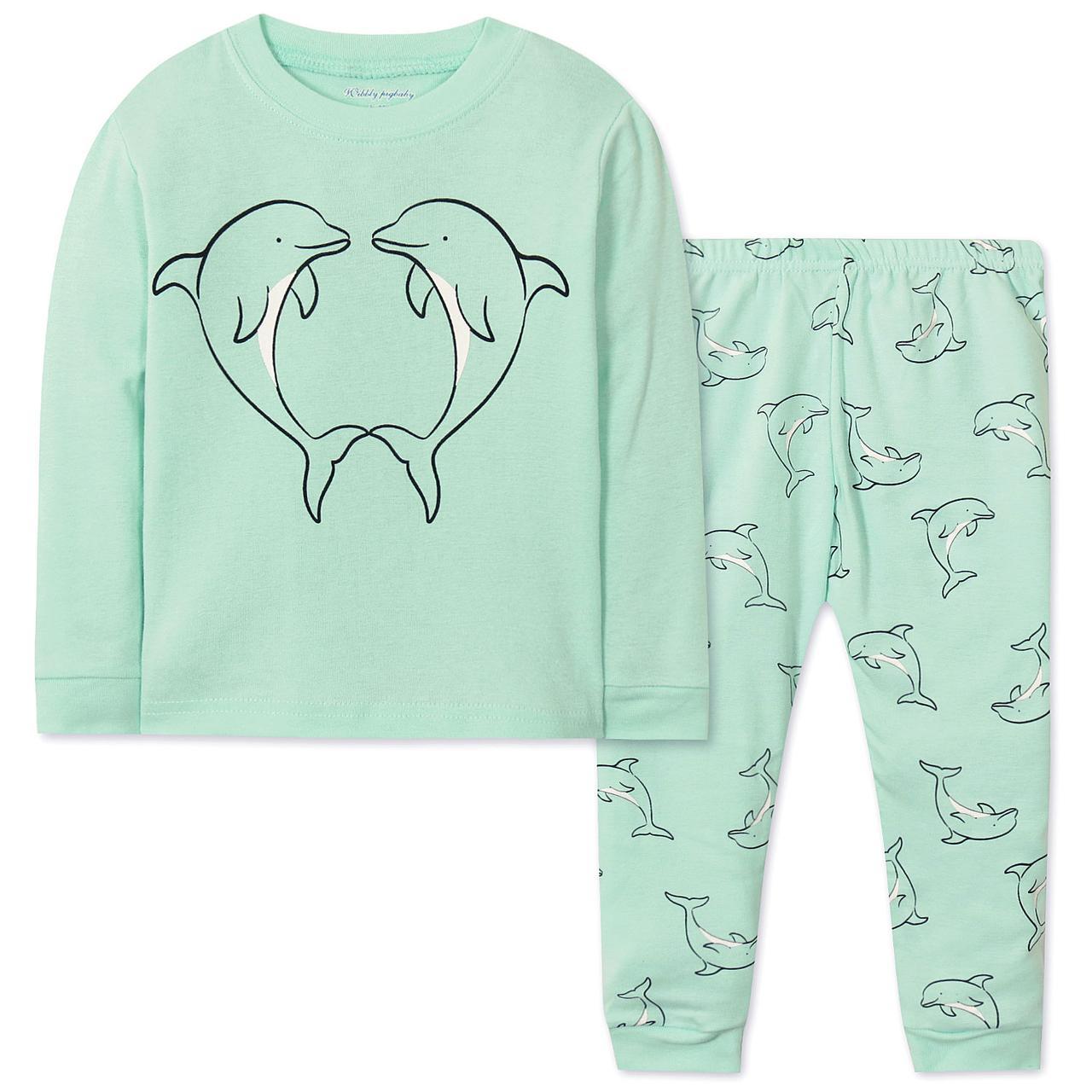 Пижама Дельфины Wibbly pigbaby