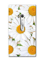 Чехол для Nokia Lumia 900 (Ромашки)