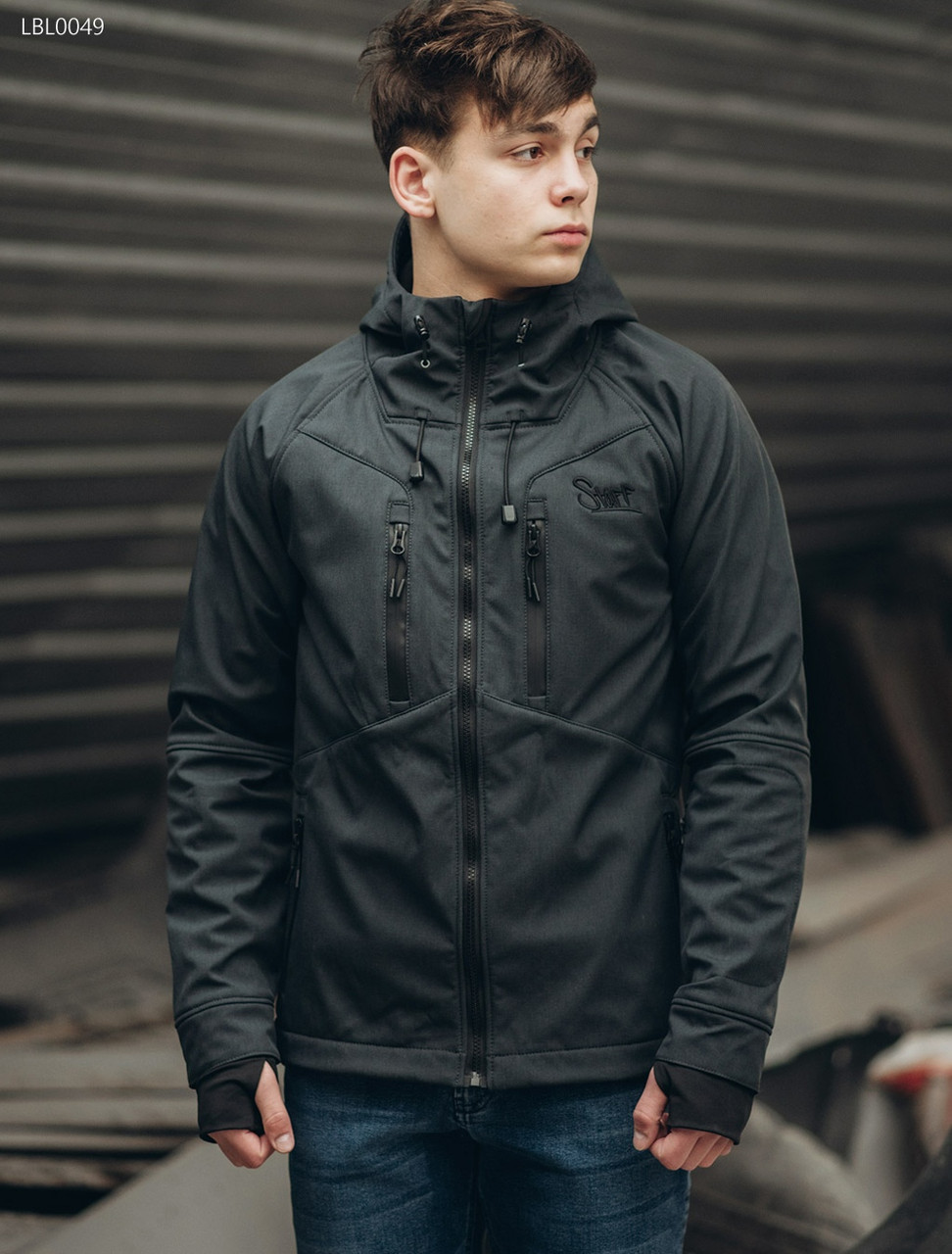 74b37e45286 Куртка Staff softshell grafit - Интернет магазин Babuza в Черновцах