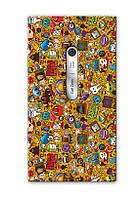Чехол для Nokia Lumia 900 (Мультяшки)