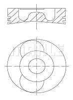Поршень Jumper/Boxer 2.2 HDi 02- STD (85mm)