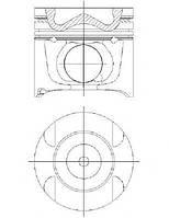 Поршень Sprinter OM642 06- (83.01mm/STD)(1-3 цил.)