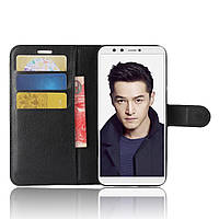 Чехол-книжка Litchie Wallet для Huawei Honor 9 Lite Черный