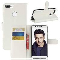 Чехол-книжка Litchie Wallet для Huawei Honor 9 Lite Белый