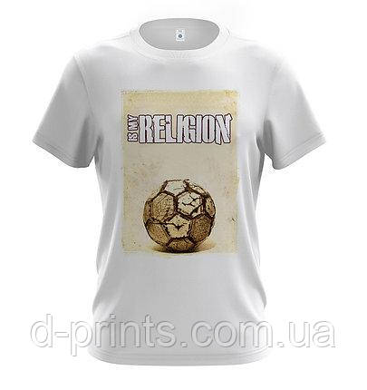 """Футболка мужская с рисунком """"Its my religion"""" MF-12-62"""
