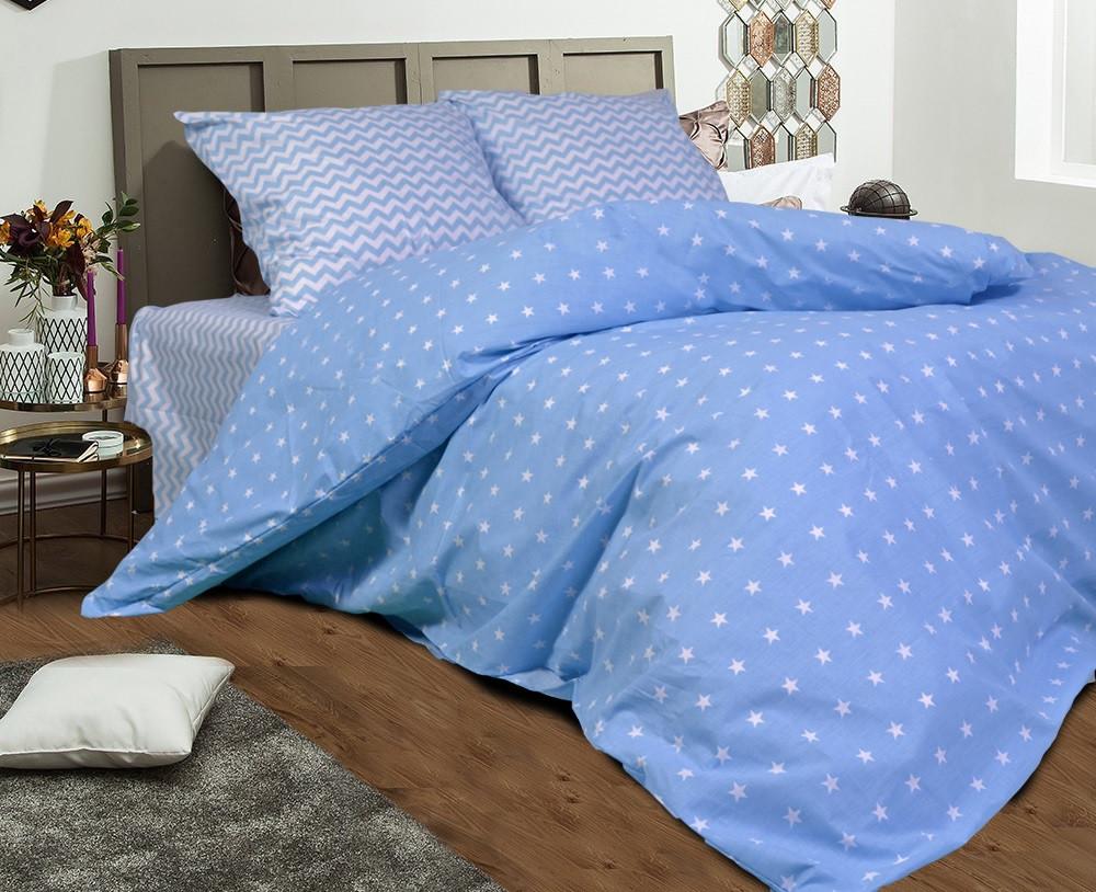 Двуспальный комплект постельного белья евро 200*220 хлопок  (11473) TM KRISPOL Украина