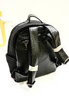 Черный рюкзак со змейками «LH - 3050», фото 3