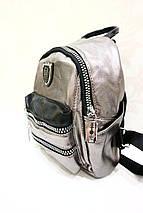 Стильный бронзовый мини-рюзак «9333», фото 3