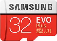 Карта памяти Samsung microSDHC 32GB EVO Plus UHS-I Class 10 (MB-MC32G/CN)