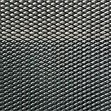 Сітка просічно-витяжна 2×8 мм, лист 0.5х1 5 м., чорна, фото 3