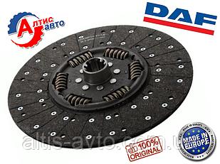 Диск сцепления DAF 95 XF, 105, CF диаметр 430мм для грузовика/тягача Евро 2/3/5 коробку передач Даф