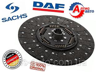 Диск сцепления DAF 105, XF 95, CF85/75 (оригинал Sachs) 1878054933, 807522 343020410 3400122101 акпп as tronic